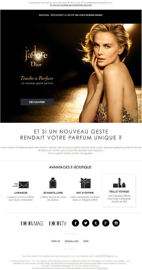 newsletter-Dior